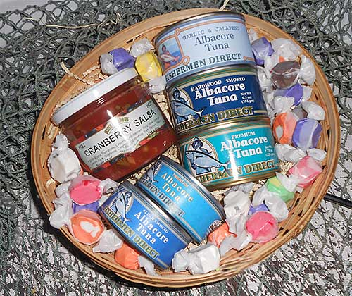 Albacore Tuna Gift Basket from Fishermen Direct