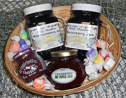 Oregon Jams Basket from Fishermen Direct